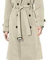 LONDON FOG 伦敦雾 London Fog 女士风衣Women's 3/4 Length Double-Breasted Trench Coat with Belt
