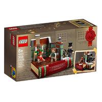 LEGO 乐高 致敬查尔斯狄更斯 40410 圣诞颂歌
