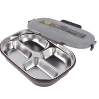 TAFUCO 泰福高 T5213 不锈钢保温饭盒 四分格 1200ml