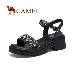 PLUS会员 : CAMEL 骆驼 A120076342 女士凉鞋