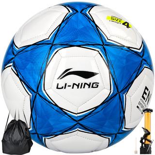 LI-NING 李宁 4号机缝足球中小学教学训练儿童足球 LFQK041-2