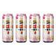4瓶装精酿啤酒小麦啤酒果味酒英国T牌日本麒麟 32.45元