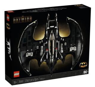 LEGO 乐高 超级英雄系列 76161 蝙蝠翼战斗机1989版