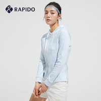 Rapido RAPIDO 雳霹道 FUBU春夏女士卫衣户外运动连帽轻薄时尚印花卫衣