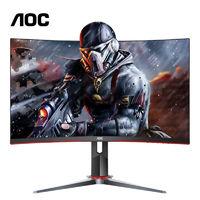 AOC 冠捷 C27G2 27英寸VA曲面显示器 (120%sRGB、165Hz、1500R)