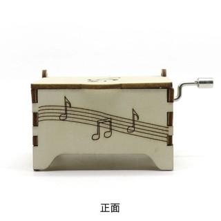 Zhiqixiong 稚气熊 八音盒 科教木质音乐盒 手遥
