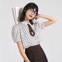 PEACEBIRD 太平鸟 A7CCB2702C0 女士衬衫