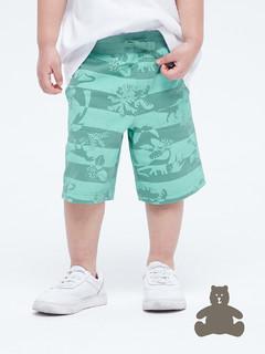 Gap 盖璞 幼儿|布莱纳系列 玩童之选 棉质舒适松紧腰休闲短裤