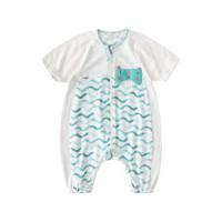 Wellber 威尔贝鲁 婴儿睡袋夏季薄款纯棉分腿新生幼儿宝宝睡袋儿童防踢被子