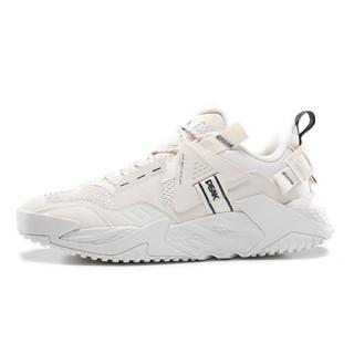 PEAK 匹克 男鞋2021夏季新款舒适透气复古休闲鞋拼接撞色时尚运动鞋男
