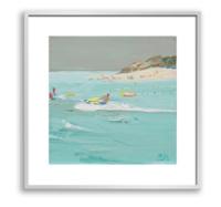 buybuyART 买买艺术 王海燕《海南沙滩》50×50cm 装饰画 油画布