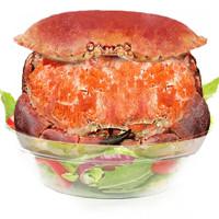 PLUS会员:首鲜道 面包蟹 每只800-600g