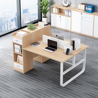 SHICY 实采 新品 办公桌椅组合简约现代职员员工简易办公室办公家具2/4人位电脑桌