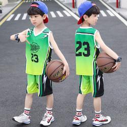 BGAT 男童时尚套装夏装童装男女童中大童运动球衣宝宝篮球服小学生队服
