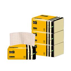 舒可乐 加厚抽取式面巾纸 4包装