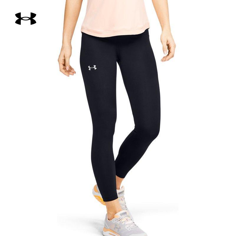 安德玛 官方UA Qualifier Speedpocket女子跑步运动紧身裤1350076 S