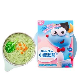 小鹿蓝蓝 婴幼儿面条 猪肝菠菜味 240g