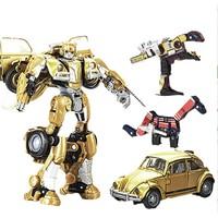 Transformers 变形金刚 手办变形汽车模型礼盒 大黄蜂限定套装E1891(定制)