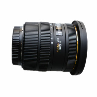 SIGMA 适马 AF 10-20mm F4.0 EX DC HSM 广角变焦镜头 尼康F卡口 82mm