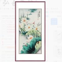 弘舍 韩梅 国画原创真迹《一堂和气》 成品尺寸80x150cm 宣纸 典雅紅褐