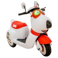 爵士贝贝 YSA-022 双驱儿童电动车 红色