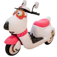 爵士贝贝 YSA-022 双驱儿童电动车 粉色