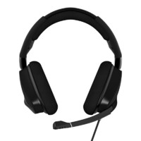 USCORSAIR 美商海盗船 VOID RGB ELITE USB 耳罩式头戴式有线耳机 黑色 USB口