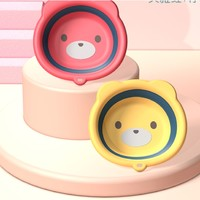 TRUBY BEAR  婴儿可折叠洗脸盆 2个装