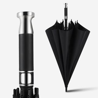 Neyankex 超大黑胶防晒高尔夫自动雨伞(加大120cm伞面)