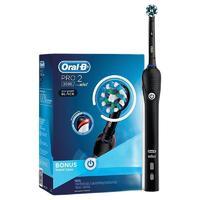Oral-B 欧乐-B P2000 电动牙刷 黑色 刷头*2