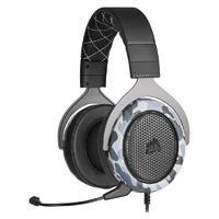 USCORSAIR 美商海盗船 HS60 HAPTIC 耳罩式头戴式有线耳机 迷彩色 USB口
