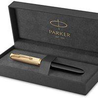 Prime会员:PARKER 派克 51复刻版 钢笔 18K F尖