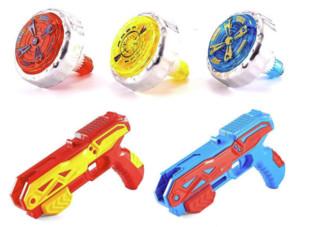 abay 儿童旋转陀螺玩具亲子对战发光玩具