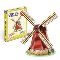 CubicFun 乐立方 3D拼图模型益智早教儿童脑力锻炼 荷兰风车