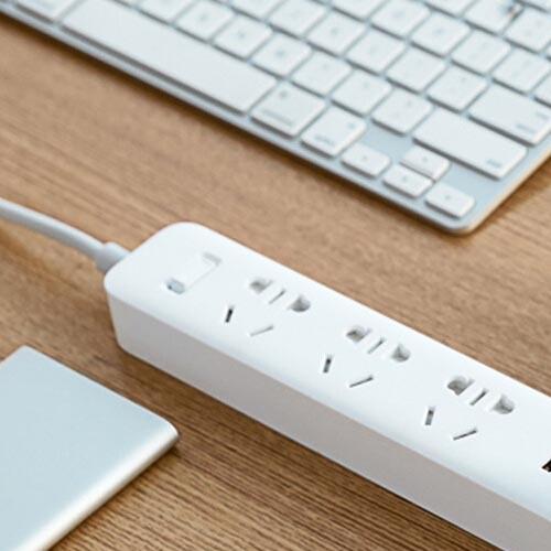 MI 小米 插排USB插座插线板拖线板多功能智能接线板家用官方旗舰店