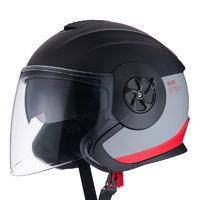 Niu Technologies 小牛电动 3/4骑行头盔 红黑 M