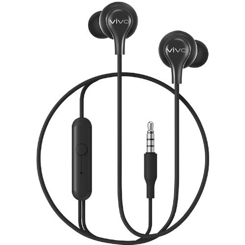vivo HP2033 入耳式入耳式有线耳机 黑 3.5mm