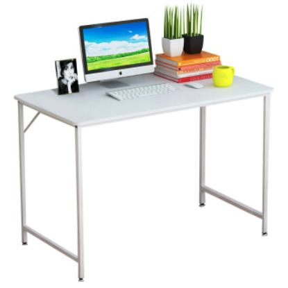 木以成居 LY-1049W 现代简约电脑桌 白色