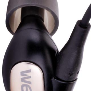 Westone 威士顿 w60 入耳式挂耳式动铁有线耳机 黑金色 3.5mm