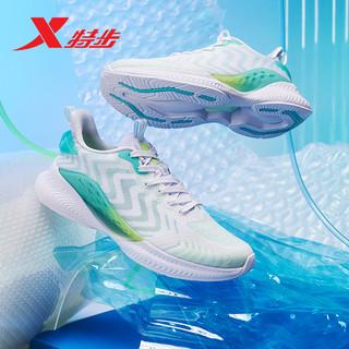 XTEP 特步 氢风科技4.0跑鞋男鞋轻便运动鞋男夏季网面透气男士跑步鞋子