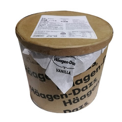 Häagen·Dazs 哈根达斯 法国哈根达斯冰淇淋大桶装 原装进口Haagen-Dazs 冰激凌 香草