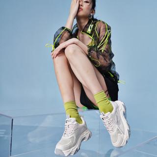 BeLLE 百丽 2021夏新商场同款运动风老爹鞋女旅游鞋休闲鞋