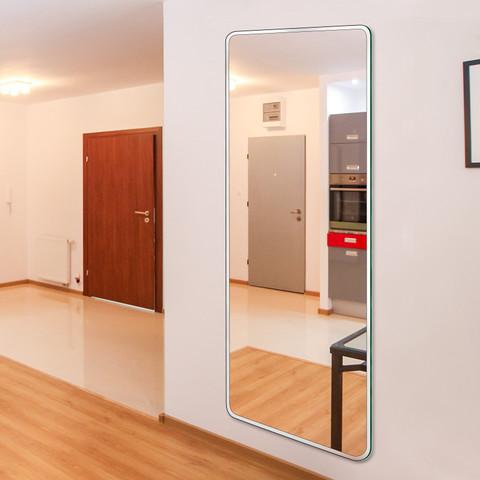 YUJING 玉晶 镜子贴墙穿衣镜自粘学生宿舍壁挂粘贴全身镜家用卧室试衣镜