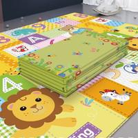 imybao 麦宝创玩 宝宝爬行垫 可折叠客厅游戏垫子加厚儿童爬爬垫 折叠180*100(礼袋装) 爬行折叠垫「180*100*1-狮子王-礼袋」