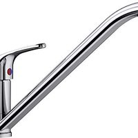 BLANCO 铂浪高 DARAS 高压厨房龙头 517720 经典入门版紧凑型,长高式出水嘴,镀铬