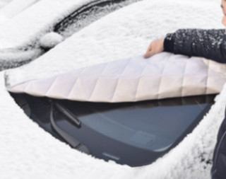 居尚 汽车遮霜除雪 挡风玻璃罩 半罩车衣 1