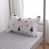 波丝米亚 信封式枕头套 46*72cm 圣诞节 枕套一只