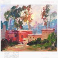 MO 伊戈尔・德穆科琴夫 油画系列《日落》60X50cm 油画 原作无框