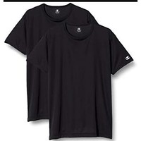 Prime会员:Champion Active Performance CM1-T702 男士圆领T恤 2件装