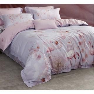 LUOLAI 罗莱家纺 60支纯棉缎纹四件套 铃兰奇境 1.8m